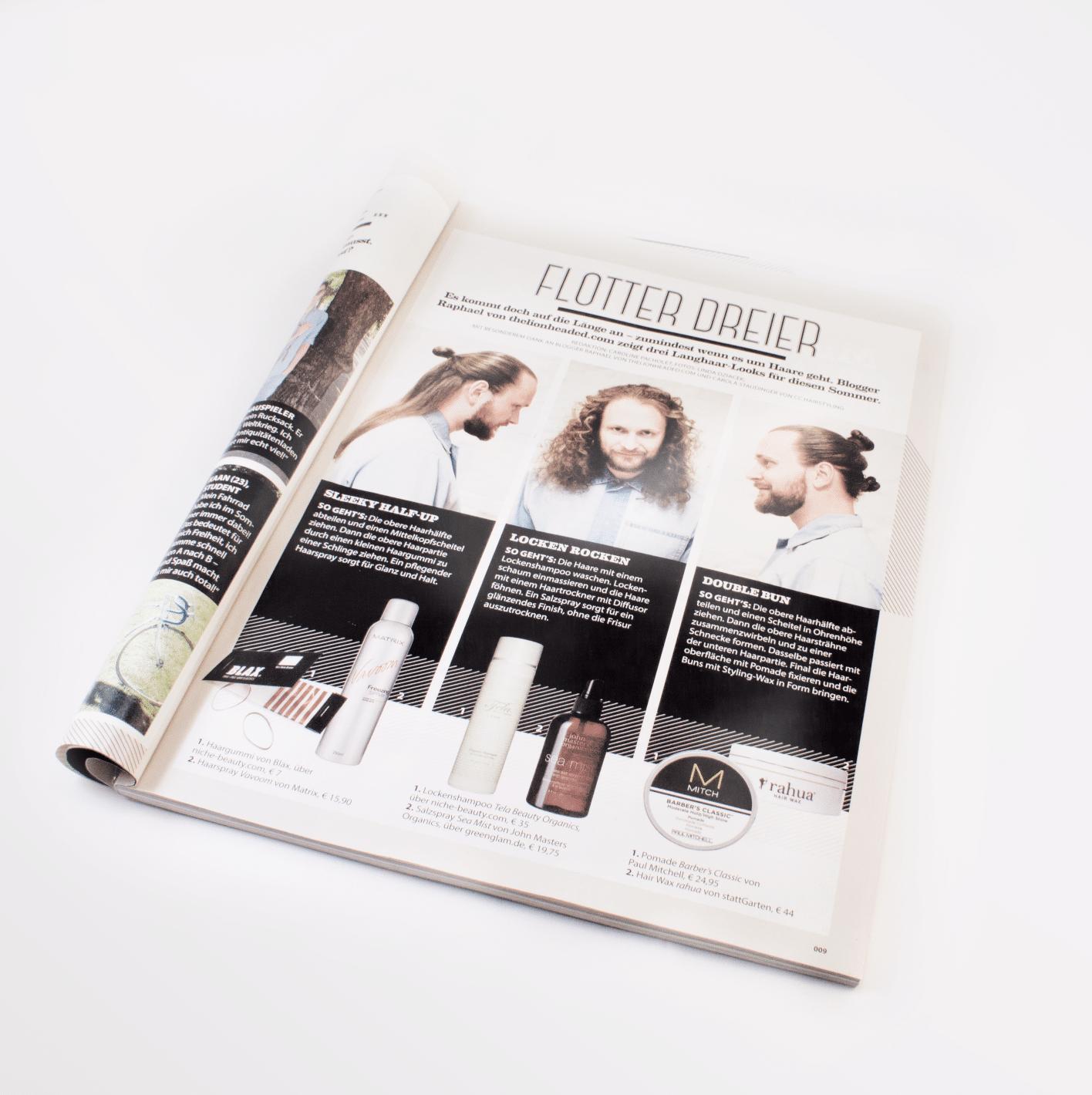 Carola Claudia Staudinger Hair Salon & Spa Blogger Raphael stelltgemeinsam mit Carola 3 Langhaar Looks für diesen Sommer vor.