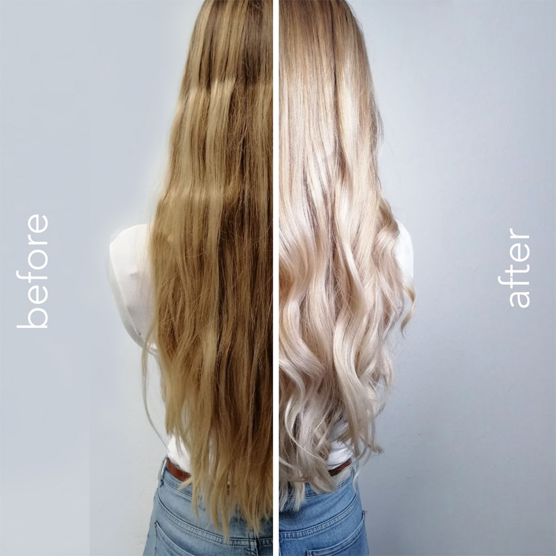 New hair new me - before and after - Balayage, blond färben, blonde Haare - Blondierung - 1010 Wien - Schönheitssalon - Friseursalon - Carola Claudia Staudinger
