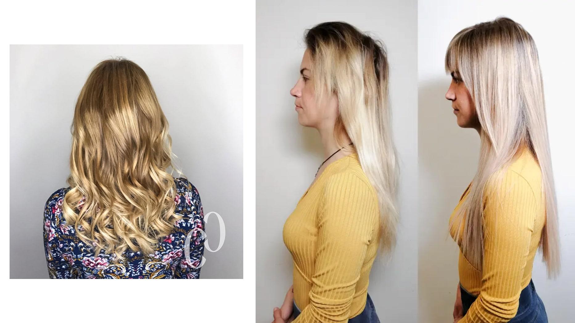 Balayage und Farbkreativität dank Extensions / Haarverdichtung / Haarverlängerung 1010 Wien bei Carola Claudia Staudinger - Luxus Echthaare von Great Lengths