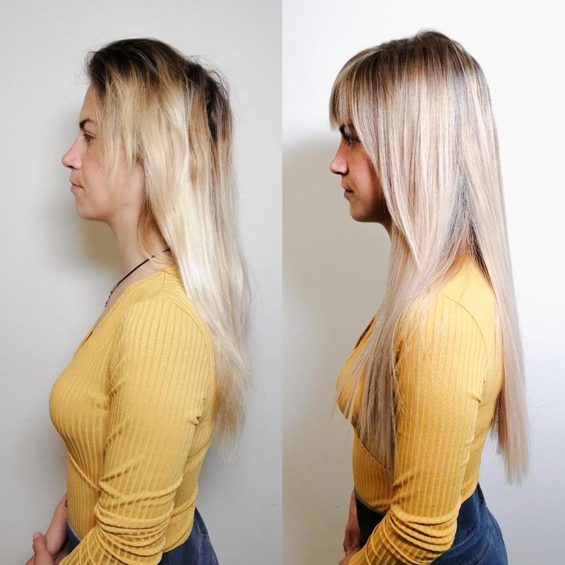 Haarveröängerung - Haarverdichtung - Hairextensions and hair tapes, hair thickening - Great Lengths and vida hair - 1010 Wien - Schönheitssalon - Friseursalon - Carola Claudia Staudinger