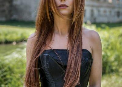 Haarverlängerung mit Naturhaar