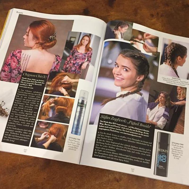 Carola Claudia Staudinger Hair Salon & Spa Romantische Look zum Nachmachen passend zum Valentinstag.