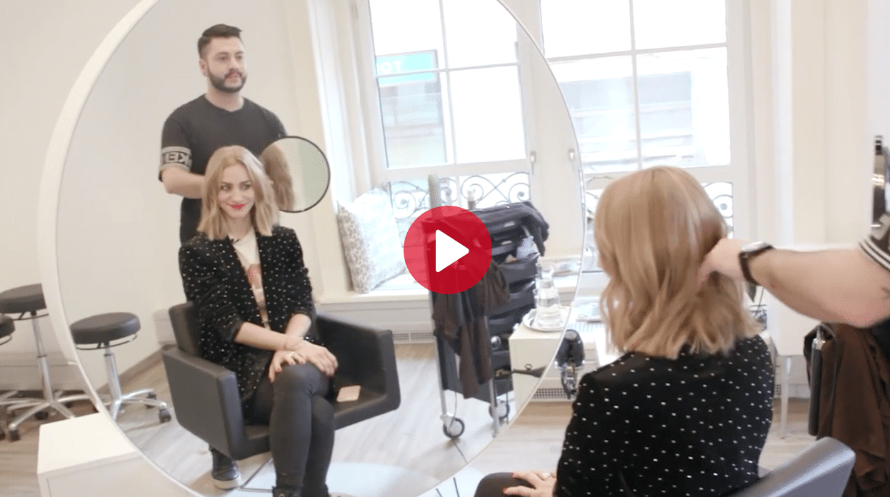 Carola Claudia Staudinger Hair Salon & Spa Der Blunt Cut ist diesen Frühling super angesagt, kein Wunder, denn er schmeichelt jeder Frau. Bloggerin Anna Posch hat ihn bei uns ausprobiert. Mehr dazu im Video.