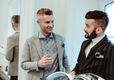 Gents of Vienna - Luxus Herrenfriseur in 1010 Wien - by Carola Claudia Staudinger Hairsalon & Spa - Haarschnitt - Konturenschnitt - Bartpflege und Bart trimmen