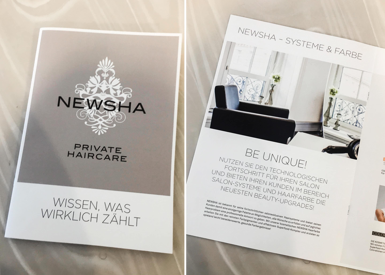 Carola Claudia Staudinger Hair Salon & Spa Featured im Newsha Magazin. In unserem Salon führen wir innovative Produkt- und Haarsysteme von Newsha - Private Haircare.