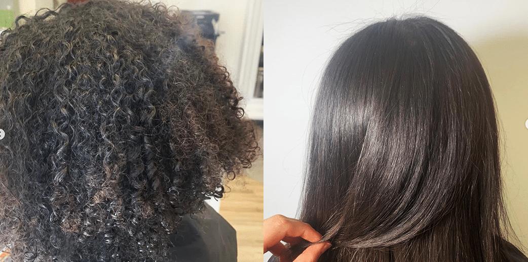 Keratin Haarglättung für stark gelocke Haare (Afro-Haare) by Carola Claudia Staudinger in 1010 Wien