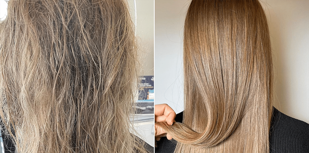 Keratin Glättung - Keratin Haarglättung - glatte Haare mit Keratin - 1010 Wien Keratin Haarglättung by Carola Claudia Staudinger Hair Salon & Spa