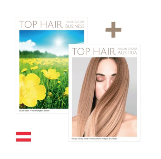 Carola Claudia Staudinger Hair Salon & Spa Ausführliche Berichterstattung über unseren Salon im bekannten Top Hair Austria Magazin - Ausgabe 03/2021.