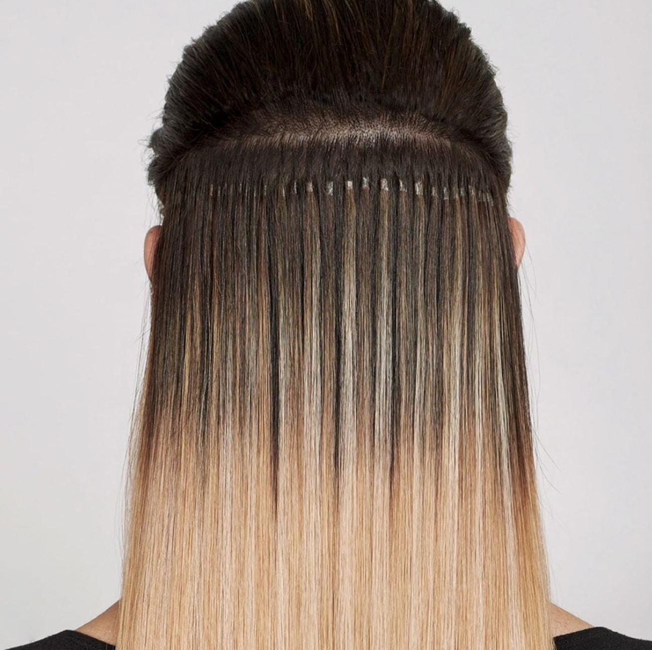 Echthaar Haarverlängerung bei Carola Claudia Staudinger Hair Salon & Spa mit Great Lengths Tapes