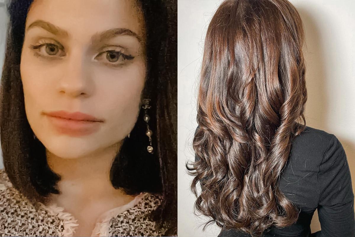 Haarverlängerung Vorher Nachher - vom Bob zur wallenden Luxusmähne - Haarverlängerung Erfahrungen Wien - 1010 - by Carola Claudia Staudinger Hair Salon & Spa